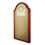 Tyskie beer mirror